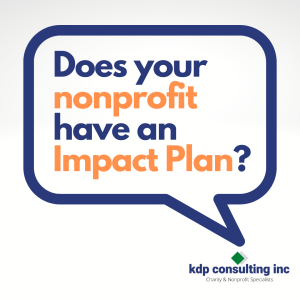 does your nonprofit have an impact plan?